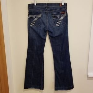 7 For All Mankind Dojo Flip Flop Denim Jeans
